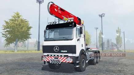Mercedes-Benz 2631 S timber loader для Farming Simulator 2013