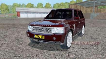 Land Rover Range Rover Superchargeɗ (L322) 2005 для Farming Simulator 2015