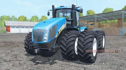 New Holland T9.700 double wheels для Farming Simulator 2015