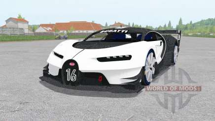 Bugatti Vision Gran Turismo 2015 для Farming Simulator 2017