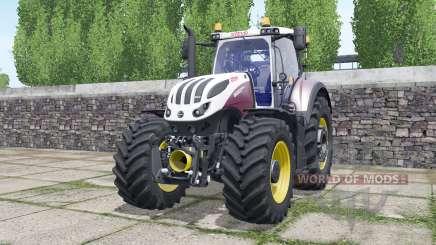Steyr Terrus 6600 CVT wheels selection для Farming Simulator 2017