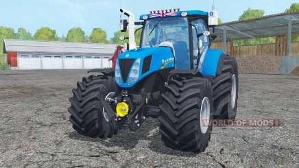 New Hollanɗ T7.170 для Farming Simulator 2015