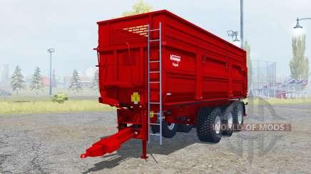 Krampe Big Body 900 S new tires для Farming Simulator 2013