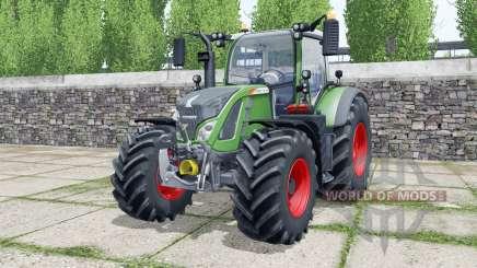 Fendt 712 Vario wheels selection для Farming Simulator 2017