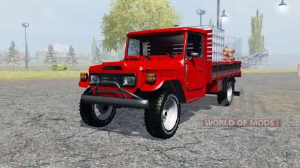 Toyota Bandeirante (BJ55LP) service для Farming Simulator 2013