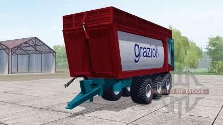 Grazioli Domex 200-6 для Farming Simulator 2017