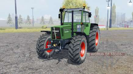 Fendt Favorit 615 LSA Turbomatik double wheels для Farming Simulator 2013