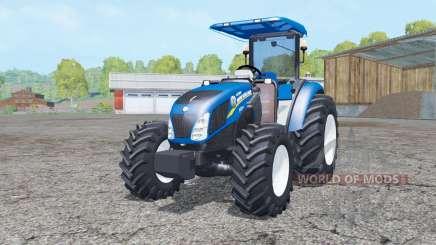 New Holland T4.75 front loader для Farming Simulator 2015