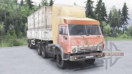 КамАЗ-5410 6x4 для Spin Tires
