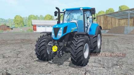 New Holland T7.170 moving elements для Farming Simulator 2015