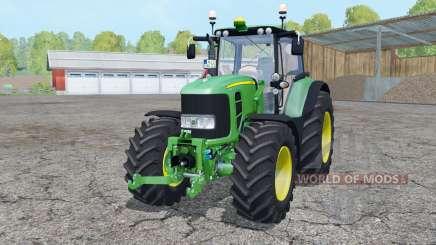 John Deere 7530 Premium loader mounting для Farming Simulator 2015