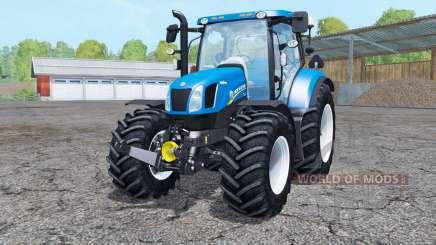 New Holland T6.175 interactive control для Farming Simulator 2015