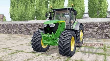 John Deere 6175R design configurations для Farming Simulator 2017
