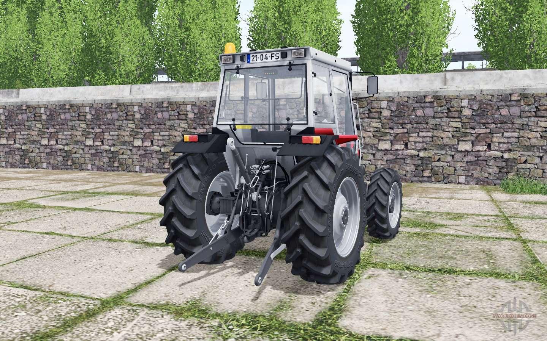Massey Ferguson 372 Bright Red для Farming Simulator 2017