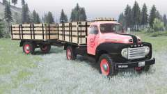 Ford F-3 1953 для Spin Tires