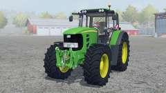 John Deere 7530 Premium vivid malachite для Farming Simulator 2013