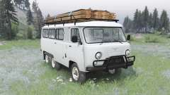 УАЗ 452К v1.1 для Spin Tires