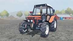 Zetor 7245 salmon для Farming Simulator 2013