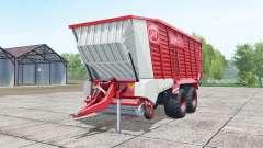 Lely Tigo XR 75 D deep carmine pink для Farming Simulator 2017