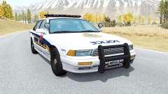 Gavril Grand Marshall Vancouver Police для BeamNG Drive