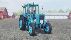 МТЗ 80 Беларус ярко-голубой окрас для Farming Simulator 2013