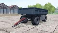 НефАЗ-8560 тёмно-серо-синий окрас для Farming Simulator 2017