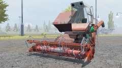 СК-5М-1 Hива мягко-красный окрас для Farming Simulator 2013