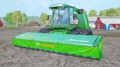 Krone BiG X 1100 dual front wheels для Farming Simulator 2015