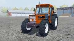 New Holland 110-90 pure orange для Farming Simulator 2013