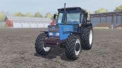 New Holland 110-90 pure cyan для Farming Simulator 2013