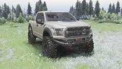 Ford F-150 Raptor для Spin Tires