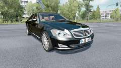 Mercedes-Benz S 350 (W221) 2009 для Euro Truck Simulator 2