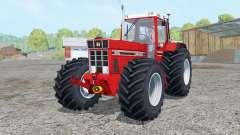 International 1455 XL Continental tires для Farming Simulator 2015