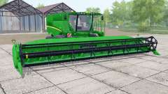 John Deere S670 header trailer для Farming Simulator 2017