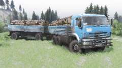 КамАЗ-43118-24 2010 для Spin Tires