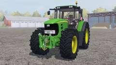 John Deere 7530 Premium ɠreen для Farming Simulator 2013