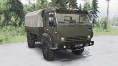 КамАЗ-43501 Мустанг 2006 для Spin Tires