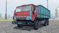 КамАЗ 53212 умеренно-красный для Farming Simulator 2013