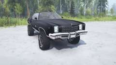 Chevrolet Monte Carlo 1977 lifted для MudRunner