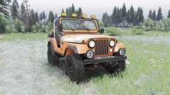 Jeep CJ-5 Renegade 1976 для Spin Tires