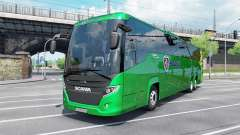 Scania Touring K410 malachite для Euro Truck Simulator 2