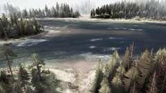 Широкая река для MudRunner