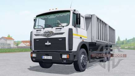 МАЗ 6303 с прицепом МАЗ 856102-5010 для Farming Simulator 2017