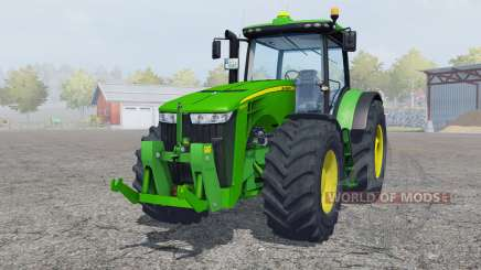 John Deere 8360R islamic green для Farming Simulator 2013