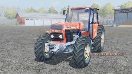 Ursus 1224 pale red для Farming Simulator 2013