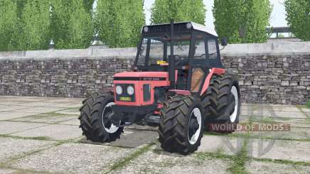 Zetor 6245 congo pink для Farming Simulator 2017