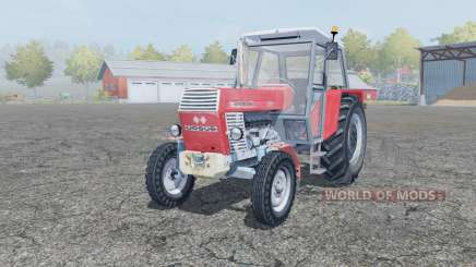 Ursus 1201 light red для Farming Simulator 2013