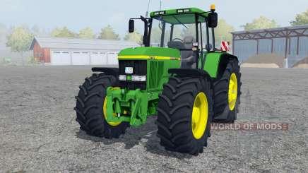 John Deere 7710 pantone green для Farming Simulator 2013