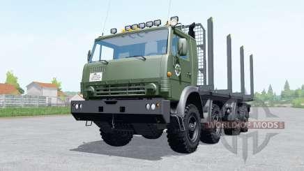 КамАЗ 6350 лесовоз для Farming Simulator 2017