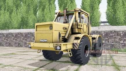 Кировец К-700А мягко-оранжевый окрас для Farming Simulator 2017
